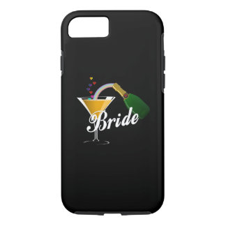 Champagne Toast Bride iPhone 7 Case