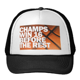 CHAMPS WIN 16 BEFORE THE REST CAP