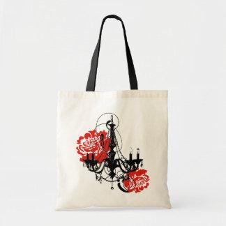 Chandelier Romance Budget Tote Bag