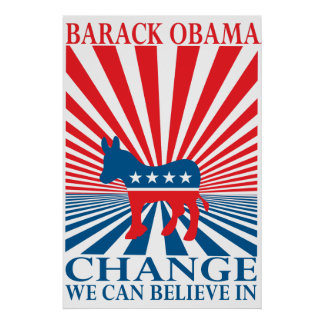 CHANGE WE CAN BELIEVE POSTER