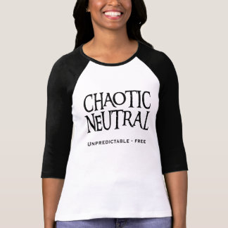 """Chaotic Neutral"" Tees"