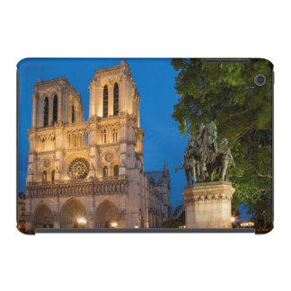 Charlemagne statue below the front façade iPad mini cases