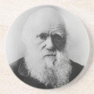 Charles Darwin Portrait by Elliott and Fry Coasters