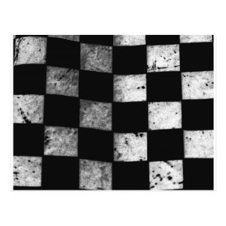 Checkered Flag Postcard