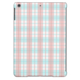 checkered turquoise and rouge case for iPad air