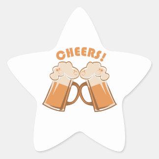 Cheers! Star Sticker