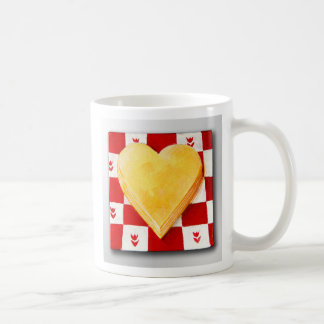 Cheese, I Love You, America Basic White Mug
