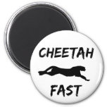Cheetah Fast Funny Running Magnet