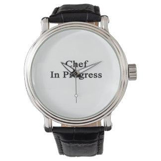Chef In Progress Wrist Watches