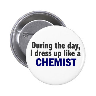 Chemist During The Day 6 Cm Round Badge