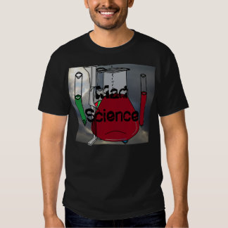 Chemists Chemistry Beakers Test Tubes Solutions 4 T-shirts