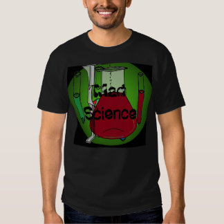 Chemists Chemistry Beakers Test Tubes Solutions 5 Shirt