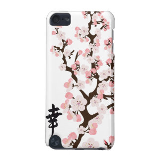 Cherry Blossom and Kanji Hard Shell Case for iPod