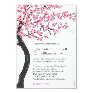 Cherry Blossoms Wedding Invitations
