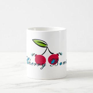 Cherry Bomb Basic White Mug