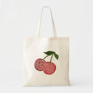 Cherry Complete Pi Budget Tote Bag