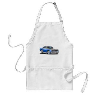 Chevy Nova Blue-Grey Car Standard Apron