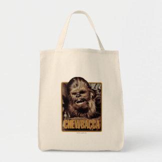 Chewbacca Badge Grocery Tote Bag
