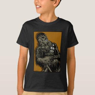 Chewbacca Brown Graphic Shirts