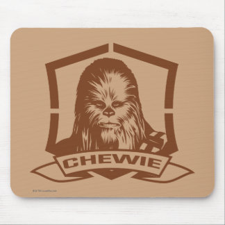 Chewbacca Brown Mouse Pad