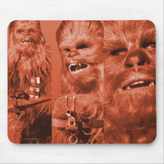 Chewbacca Photograph Collage Mouse Pad