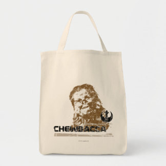 Chewbacca Vintage Grocery Tote Bag