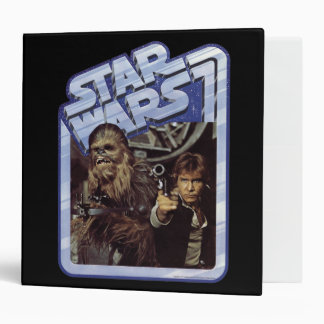 Chewie and Han 3 Ring Binder