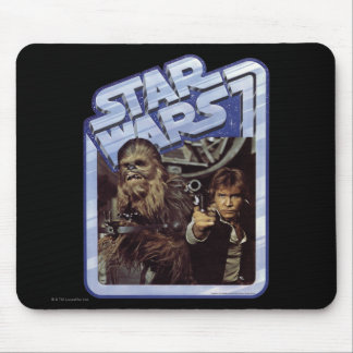 Chewie and Han Mouse Pad