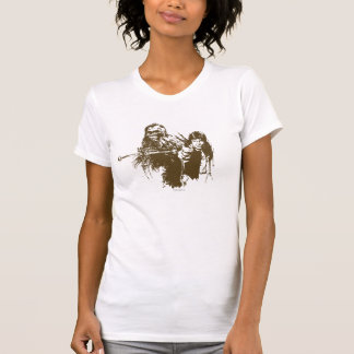 Chewie and Han Silhouette Tshirts