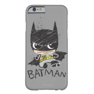 Chibi Classic Batman Sketch Barely There iPhone 6 Case