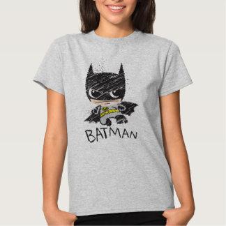 Chibi Classic Batman Sketch Tee Shirts
