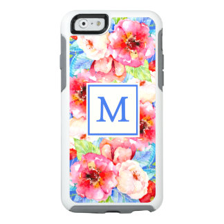 Chic Monogram Floral OtterBox iPhone 6/6s Case