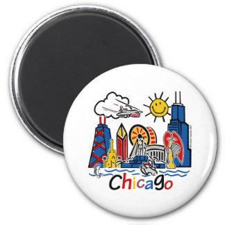 Chicago-KIDS-[Converted] 6 Cm Round Magnet