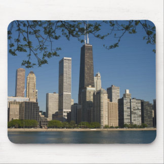Chicago skyline and Lake Michigan, Lake Shore Mouse Pad