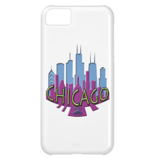 Chicago Skyline newwave cool iPhone 5C Case