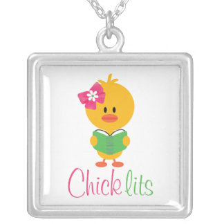 Chick Lits Square Necklace