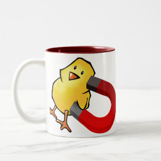 CHICKMAGNET Two-Tone MUG
