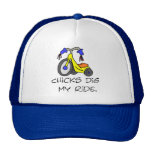 Chicks Dig My Ride T-shirts and Gifts. Cap