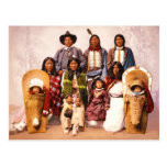 Chief Severo and Family (Ute People) Postcard