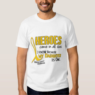 Childhood Cancer Heroes All Sizes 1 Daughter Tees