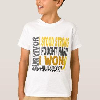 Childhood Cancer Survivor 4 Shirt