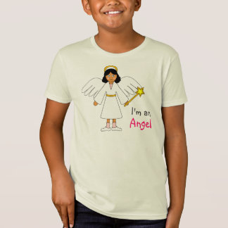 "Children's Nativity -- Cute ""I'm an Angel"" design Tshirts"