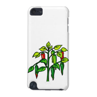 Chili Plant Many Peppers Graphic iPod Touch (5th Generation) Case