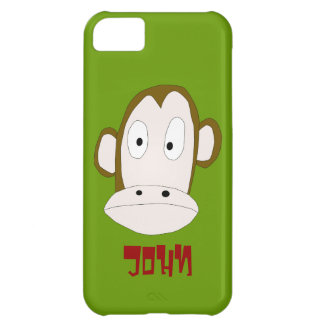 Chimp iPhone 5 Cover Template