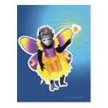 Chimpanzee Fairy Postcard