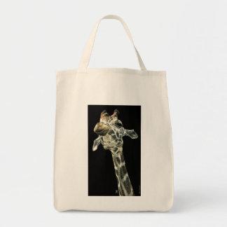 """Chin Up"" - Giraffe Tote Bag"