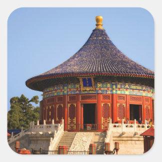China, Beijing, Tian Tan Park, Temple of Heaven, 2 Square Sticker