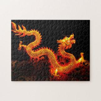 Chinese Dragon Lantern Jigsaw Puzzles
