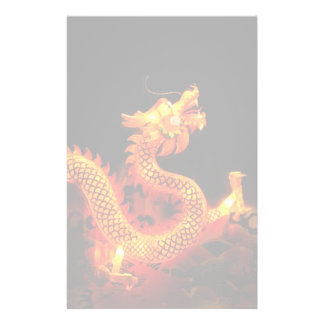 Chinese Dragon Lantern Stationery Paper