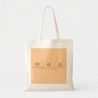 Chinese name for Naomi 20262_1.pdf Budget Tote Bag